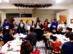 Us singing our first Farsi Christmas song with the Helping Hands team