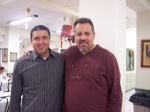 Frank & Fotis (pastor of New Life church)