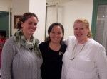 Suzie, Christy & Susie (Helping Hands staff)