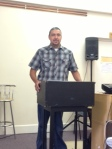 Frank Teaching on Sunday morning at CC Exeter, England