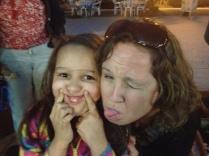 Suzie & Bella...funny faces :)