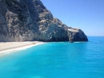 Beach on Lefkada Island