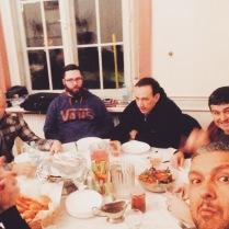 Food, Fellowship & Crazy Life Stories