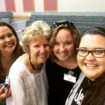 Suzie with CCSB ladies (Gail Mays, Nene & Kramer)