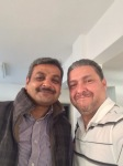 Frank & Peter (Pakistani Pastor he trains)