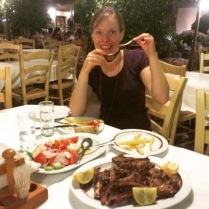 Greek lamb chops for our Canadian :)