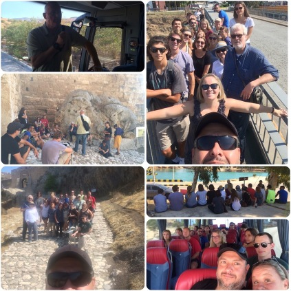 CORINTH TRIP WITH THE CCBC STUDENTS AND STAFF