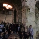 Spending our last night with prayer and worship on the Acropolis and just hanging out!