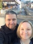 Us on a bridge in Kandern...