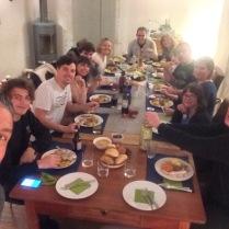 Thanksgiving dinner in Switzerland!