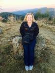 Suzie overlooking the Kandern Valley...