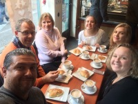 Coffee with the Moll Family