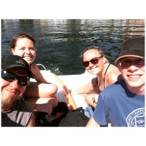 Row row...paddle your boat :)