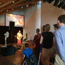 Thank you to CC Freiburg in sending us live worship for our first public meeting!