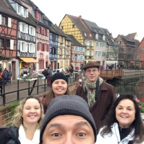 Visiting Colmar, France: A Medieval city close by our home.