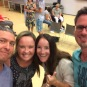 Fun to see worship leader, Olli & his wife from CC Siegen at the CC church in Holland!