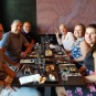 Sushi dinner with Stan & Marnie & Casper & Amiet!