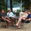 pastors chatting...
