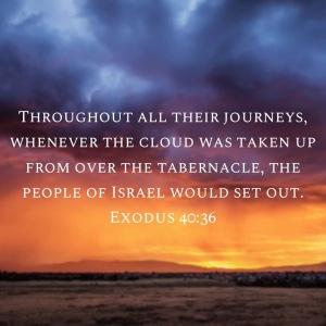 Exodus 40:36